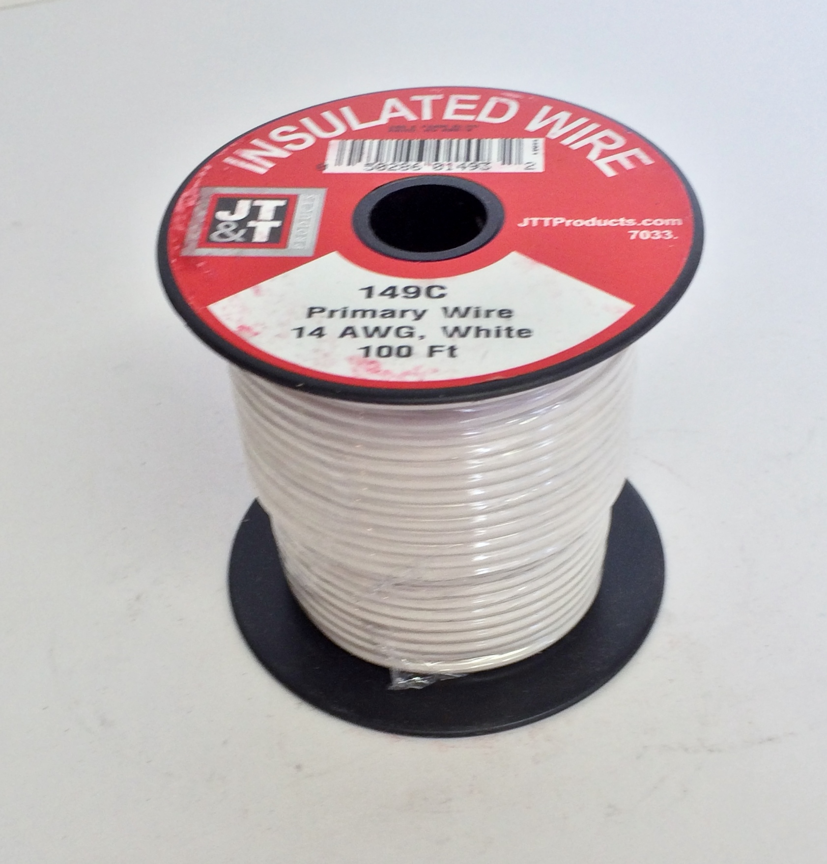 Wire 14 Gauge, White Primary Wire, 149C - Meadows Auto Supply